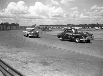 Speedrome stock car race