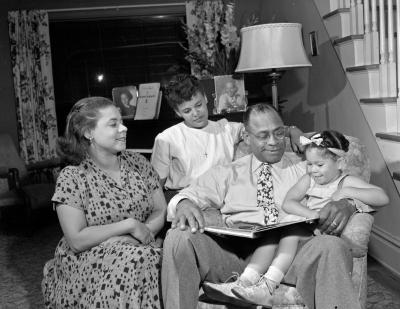 Walter Coe and family