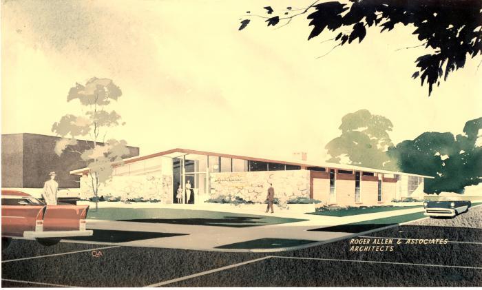 Ottawa Hills, architectural rendering