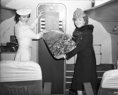 Penn-Central Airlines Air Hostess