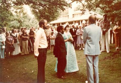 Wedding of Michael Chacko Daniels and Teresa Podgorski