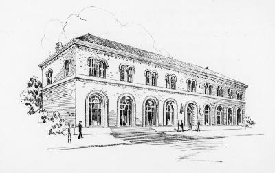 Architectural rendering of West Side Branch