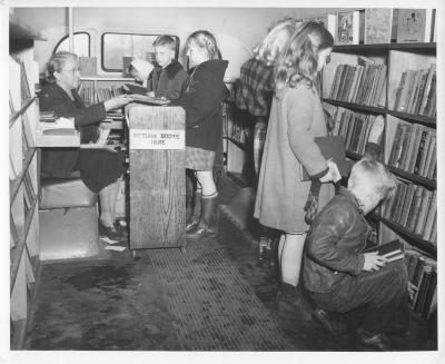 Grand Rapids Public Library Bookmobile