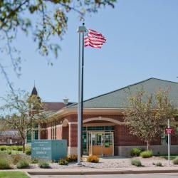 West Leonard branch, exterior