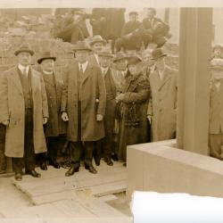 West Side branch, cornerstone ceremony