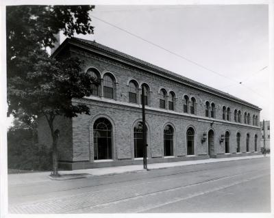 West Side branch, exterior view