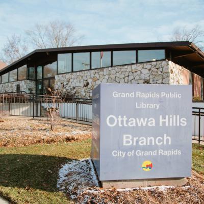 Ottawa Hills branch exterior