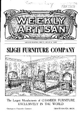Weekly Artisan, July 9, 1910