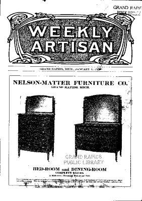 Weekly Artisan, January 1, 1910