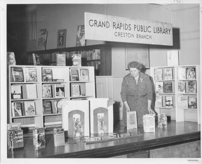 Interior of the Creston Branch Library
