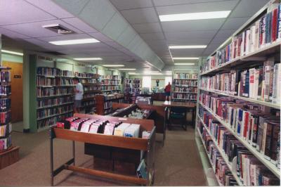 Interior, Seymour Branch Library