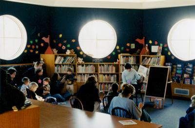 Storytime at the Yankee Clipper Branch Library
