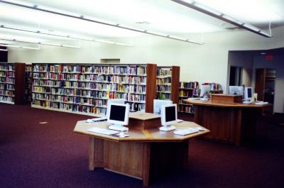 Interior of the Seymour Branch Library