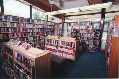 Interior of the Ottawa Hills Branch Library
