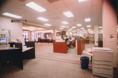 Interior of the Main Library, circa 2000