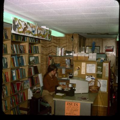 Interior of the Yankee Clipper Mobile Library