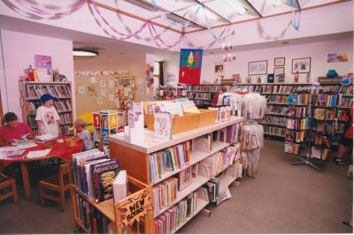 Interior of the Yankee Clipper Branch Library