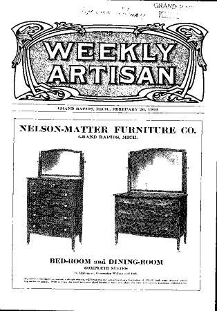 Weekly Artisan, February 26, 1910