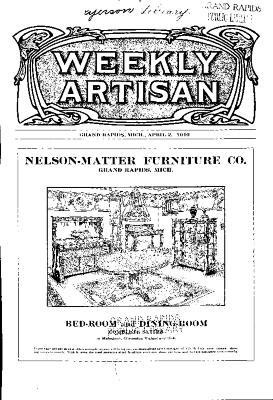 Weekly Artisan, April 2, 1910