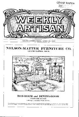 Weekly Artisan, April 16, 1910