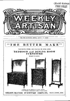 Weekly Artisan, July 17, 1909