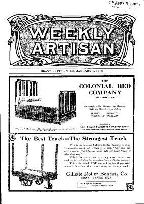 Weekly Artisan, January 8, 1910