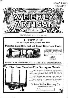 Weekly Artisan, July 10, 1909