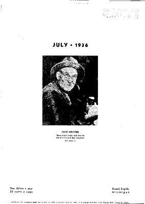 Fine Furniture, July 1936