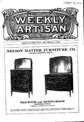 Weekly Artisan, December 4, 1909