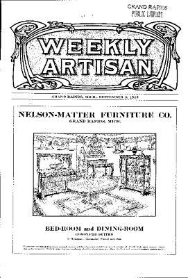 Weekly Artisan, September 3, 1910