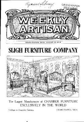 Weekly Artisan, August 13, 1910