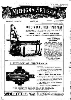 Michigan Artisan, May 10, 1906
