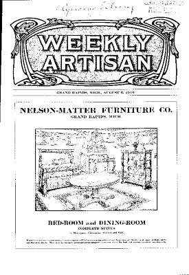 Weekly Artisan, August 6, 1910