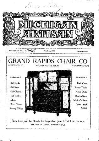 Michigan Artisan, May 25, 1906