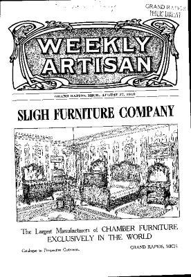 Weekly Artisan, August 27, 1910