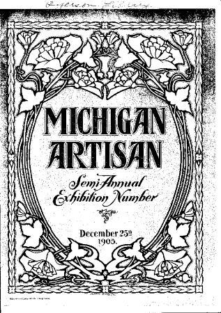 Michigan Artisan, December 25, 1905