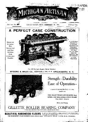 Michigan Artisan, February 10, 1906