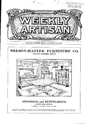 Weekly Artisan, August 20, 1910