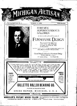 Michigan Artisan, August 10, 1905