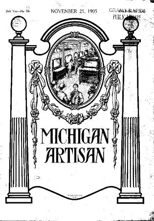 Michigan Artisan, November 25, 1905