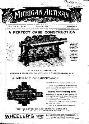 Michigan Artisan, March 10, 1906