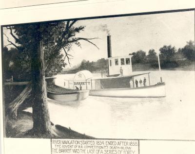 """Barrett"" steamboat"