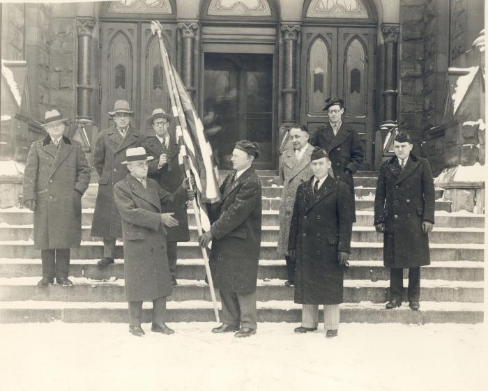American Legion Delegation