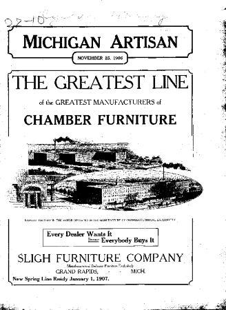 Michigan Artisan, November 25, 1906