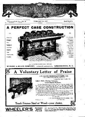 Michigan Artisan, February 10, 1907