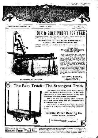 Michigan Artisan, April 10, 1907
