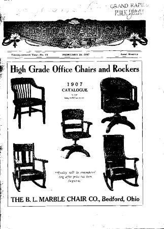 Michigan Artisan, February 25, 1907