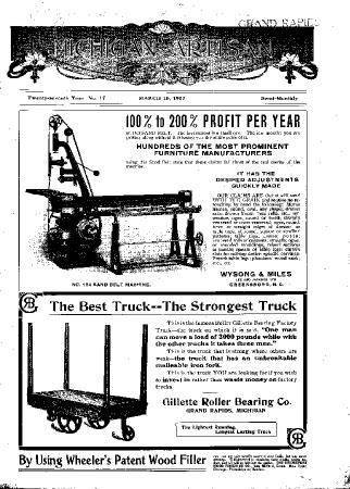 Michigan Artisan, March 10, 1907