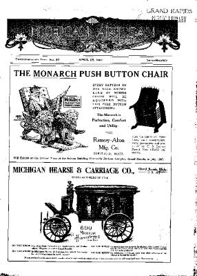 Michigan Artisan, April 25, 1907