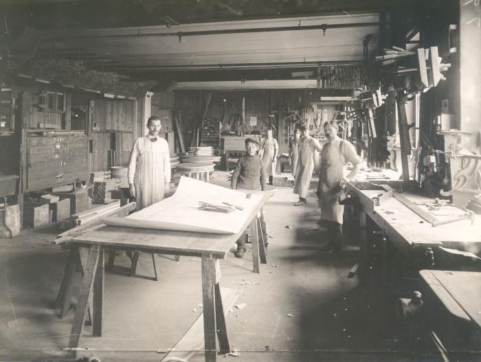 Robert W. Irwin Company Interior
